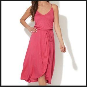 MIGUELINA Red Valora Jersey Dress Sz L - NWT